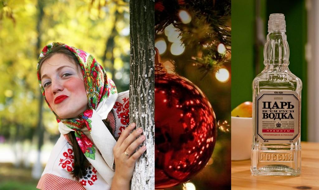 Festlige traditioner, mad og vodkasmagning
