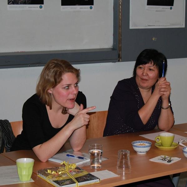 Встреча за чашкой кофе с Йоханной Шмидт- Нильсен